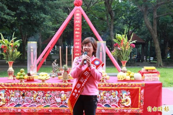 国民党籍前议员胡淑蓉无意参加三重立委补选。(资料照)