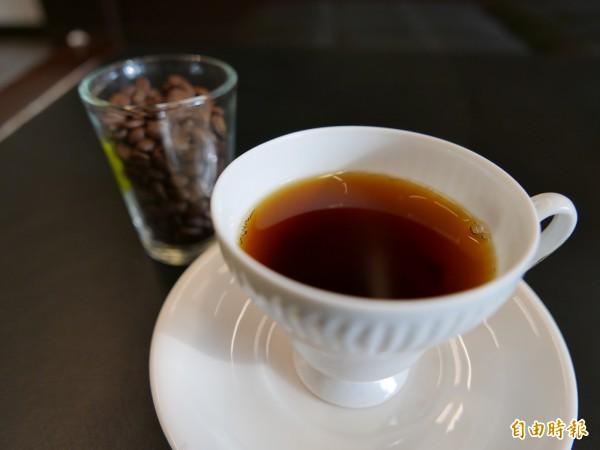 咖啡可促進交感神神興奮,抑制食欲。(記者蔡淑媛攝)