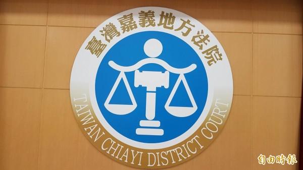 嘉義地區首宗9合1賄選案判刑出爐,太保市謝姓里民被判刑1年8月。(記者丁偉杰攝)