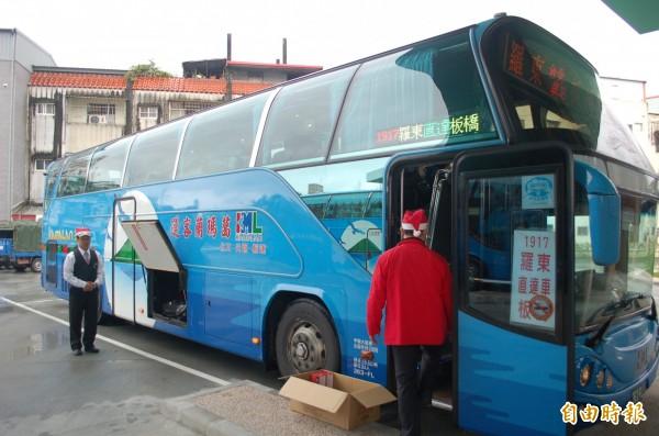 葛瑪蘭客運配合交通部政策,2/1到2/10祭出優惠票價。(資料照,記者江志雄攝)