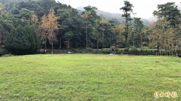 基隆童軍活動中心成功招商,未來規劃有5個露營區。(記者林欣漢攝)