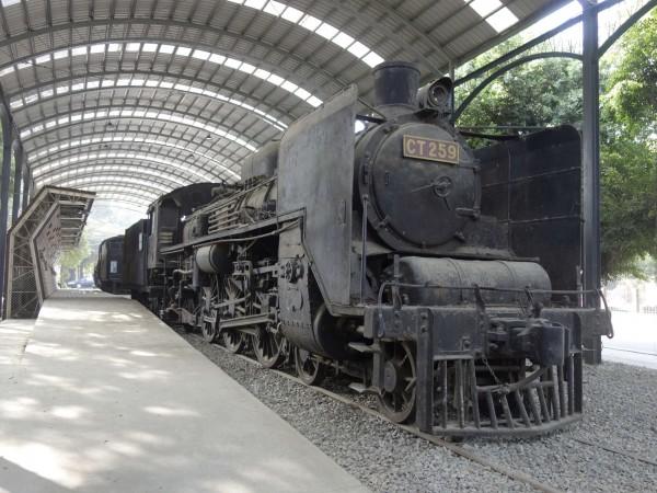 台南體育公園蒸汽機關車,將進行修復。(記者洪瑞琴翻攝)