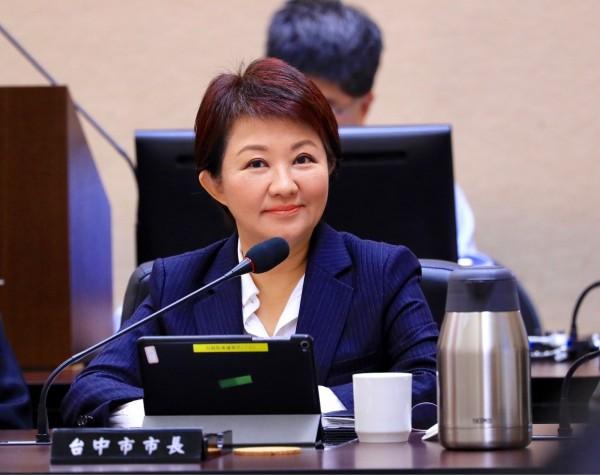 苏贞昌接任行政院长,卢秀燕对他有所期待。(台中市政府提供)