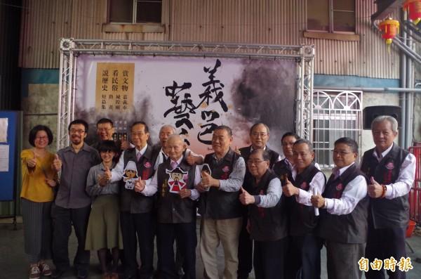 嘉邑城隍廟推出共6集的水墨動畫,希望帶動結合文創的宗教文化。(記者王善嬿攝)