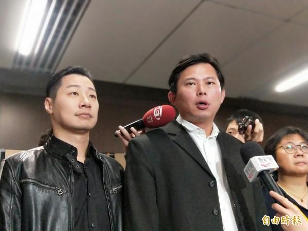 黃國昌表示,黨章修正後產生會產生新的領導階層,屆時會對2020選舉總路線有明確的說明。(記者何玉華攝)