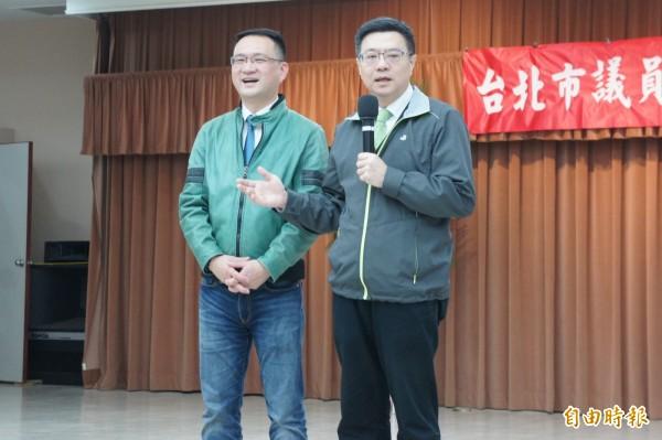 民進黨主席卓榮泰下令台北市總動員,一定要守住台北市立委補選。(記者黃建豪攝)