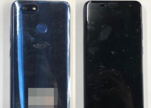 北韓新型智慧型手機「平壤2423」的外觀。(擷取自網路)