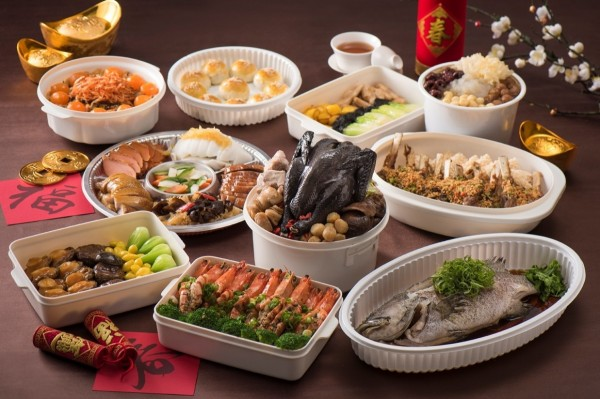國賓飯店粵菜桌菜組合。(圖/國賓飯店提供)