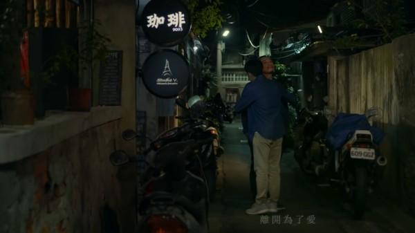 劉志頡說,他聽到盧欣民的新歌後,腦中立刻出現死去的胞弟抱著他,跟他說在天上過得很好。(翻攝MV畫面)