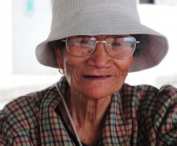 花蓮噶瑪蘭族新社部落女祭師Ibay(潘烏吉),今天清晨在睡夢中安祥去世,享年94歲。(資料照,記者花孟璟攝)