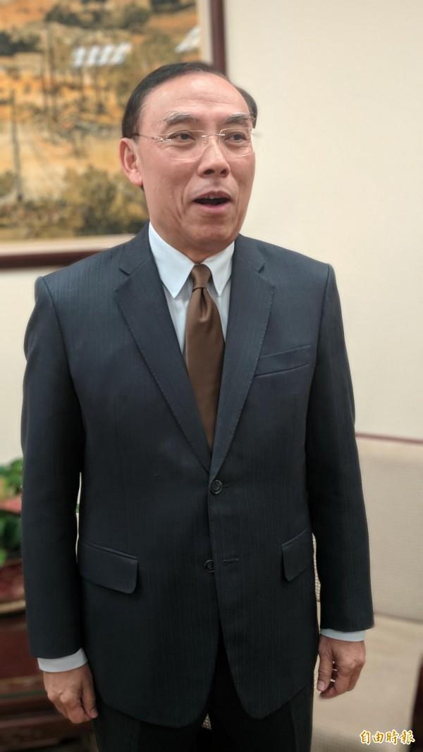 法務部長蔡清祥調動21位檢察長,頗受外界好評。(記者吳政峰攝)