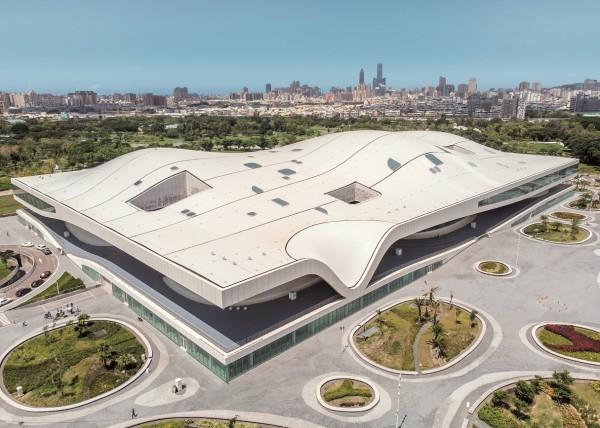衛武營國家藝術文化中心榮登全球重量級媒體《紐約時報》。(衛武營提供)