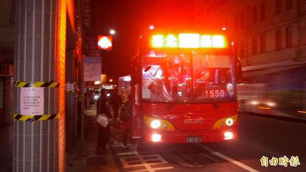 福和客運1550「基隆-台北」路線,將由泰樂客運接手,年後開始進行籌備。(記者林欣漢攝)