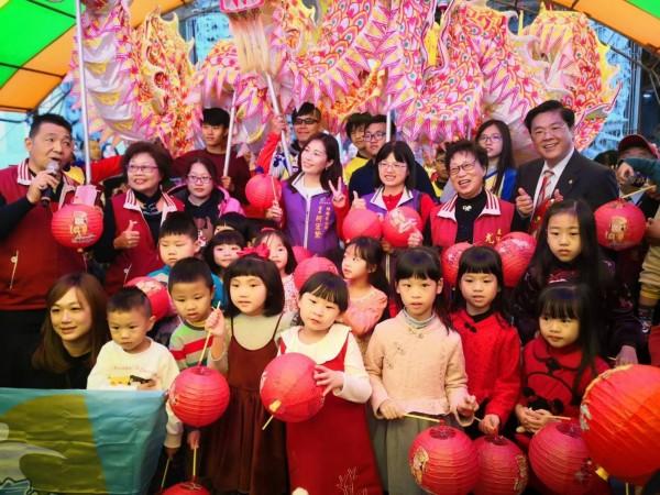 梧棲57元宵燈節踩街活動,將於2月16日舉行。(朝元宮提供)