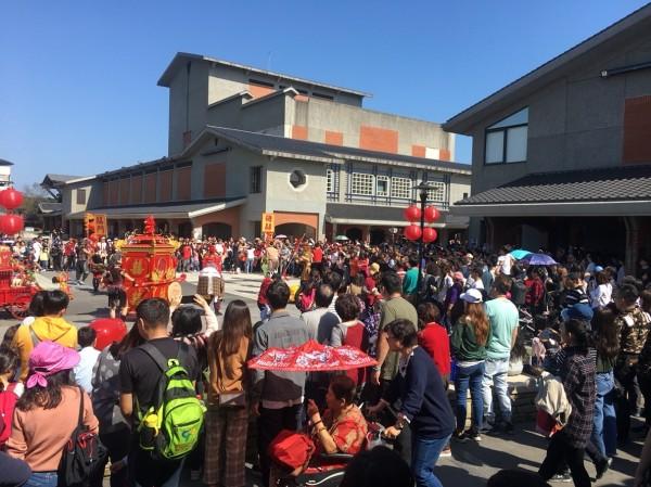 傳藝中心在春節8天假期(除夕休園),湧入9萬7000多人次。(資料照,記者江志雄翻攝)