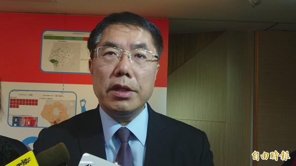 台南市長黃偉哲表示樂於與其他縣市首長交流,但希望多做市政團隊交流。(記者劉婉君攝)