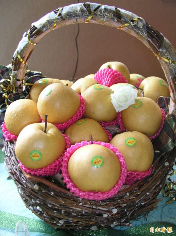 三星上將梨是宜蘭縣知名農特產品。(資料照,記者江志雄攝)