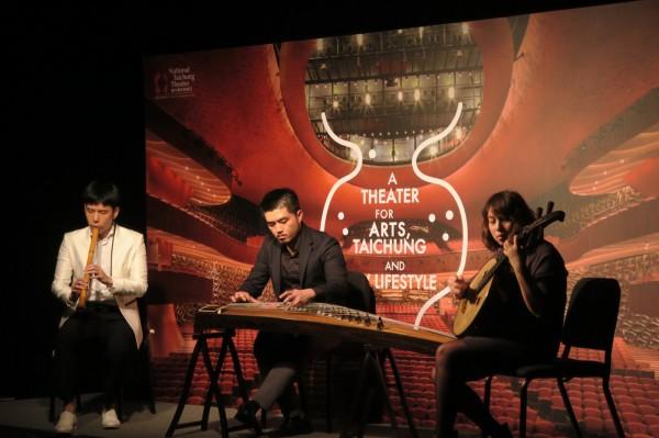 台中國家歌劇院邀「三個人」等樂團,推出百元音樂會。(圖:歌劇院提供)