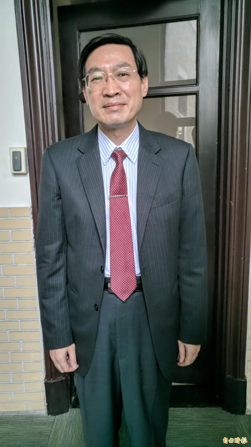 測謊專家、汐止分局長林故廷反對禁止測謊,憂法條一旦通過,台灣測謊技術的領先優勢將喪失。(記者吳政峰攝)