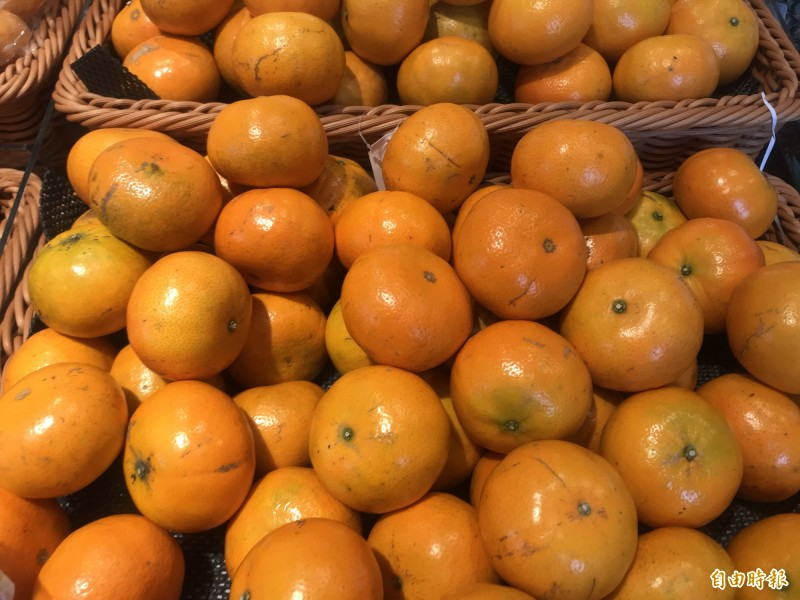 感冒時,老一輩總說不能吃橘子,不過中醫師認為,風熱性感冒可以補充一些柑橘,止咳化痰。(記者萬于甄攝)