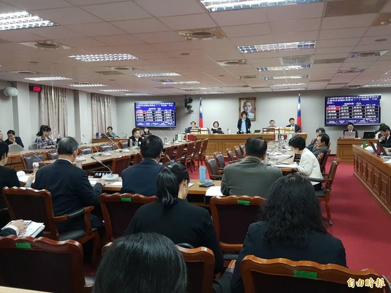立院司法及法制委員會今排審「少年事件處理法部分條文修正草案」。(記者謝君臨攝)