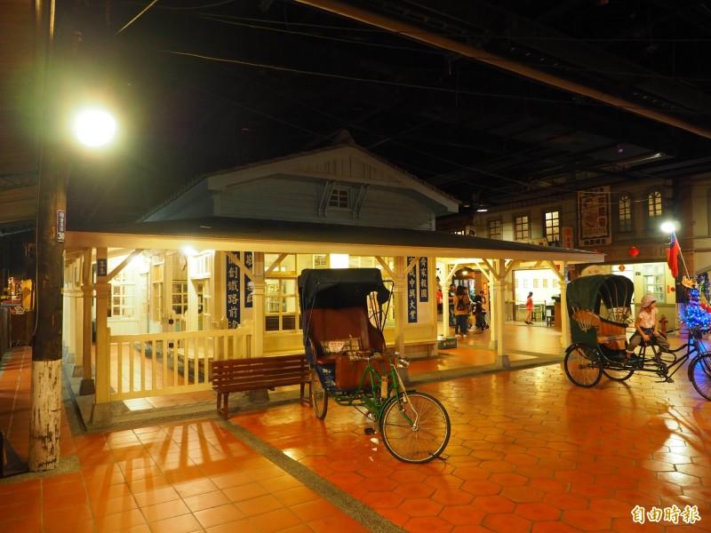 寶島時代村將增加懷舊街景,讓遊客有更多打卡點。(記者陳鳳麗攝)