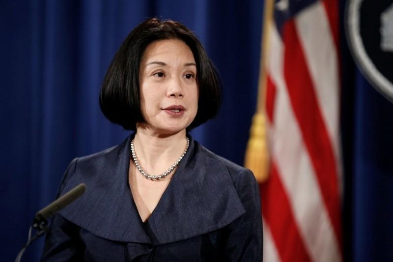 川普擬提台灣移民之女劉潔西出任司法部副部長。(路透檔案照)