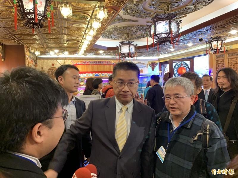 內政部長徐國勇強調,發生鬥毆時如果警方處置得宜,不必下台還會記功。(記者何玉華攝)