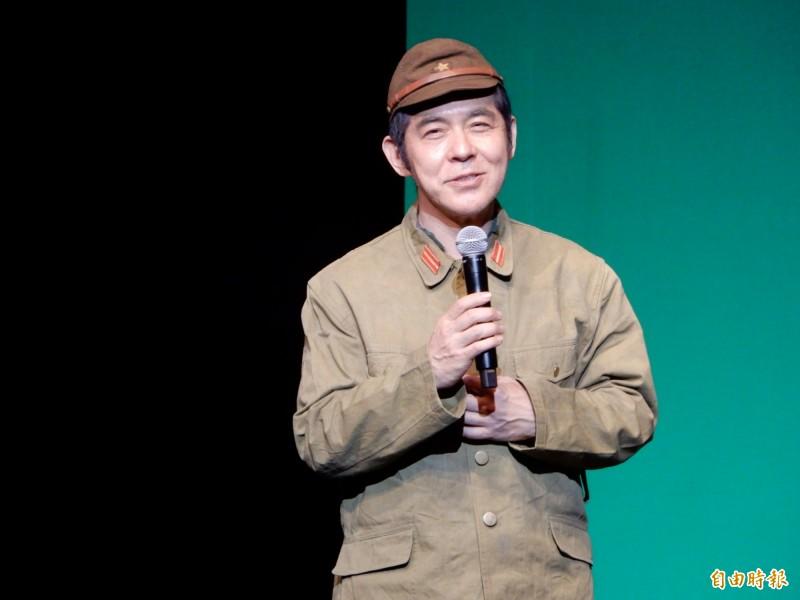 日本東北大地震8週年,劇作家大日琳太郎帶領劇團11日在東京首次舉辦公演謝謝台灣。(記者林翠儀攝)