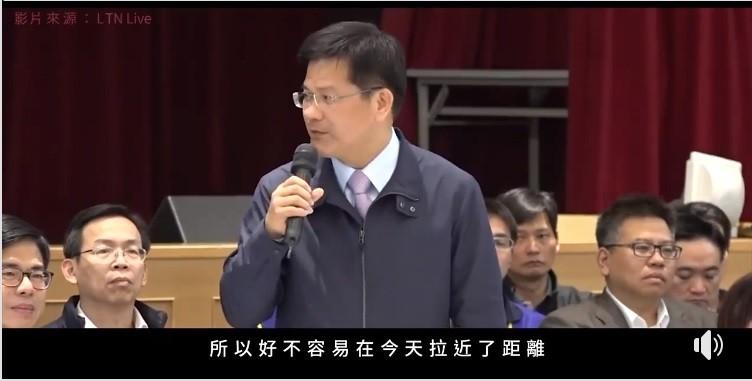 林佳龍透露華航機師罷工後續。(翻攝自林佳龍臉書)