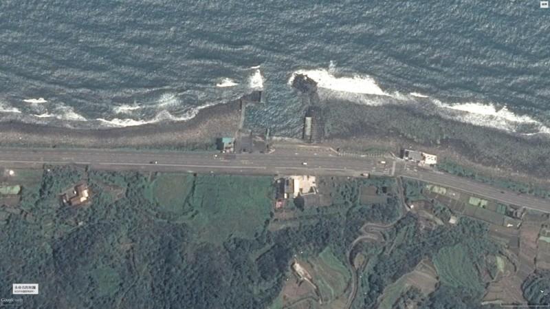 永興漁港拆除前樣貌。(圖為新北市政府漁業及漁港事業管理處提供)