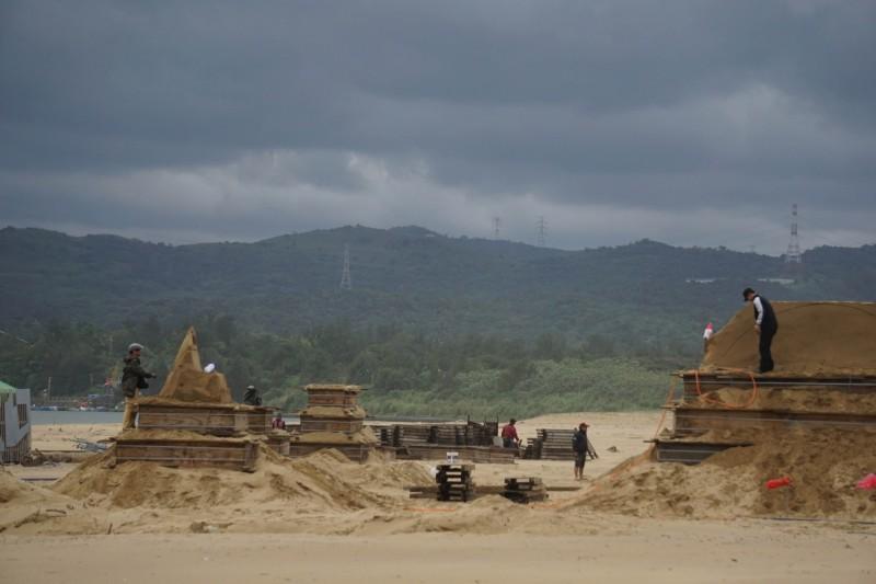 福隆國際沙雕藝術季邁向第12年,將於4月19日到8月25日登場。(福容大飯店提供)