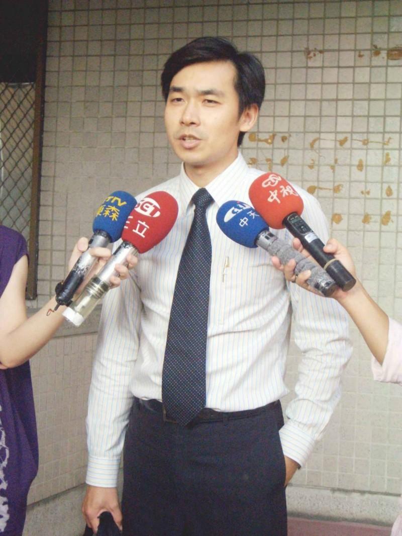 前民進黨高市議員羅鼎城。(記者王榮祥翻攝)