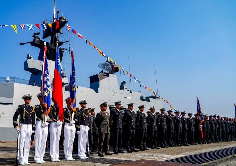 海軍敦睦遠航訓練支隊將在週日(24日)、下週一(25日)在基隆港東五碼頭威海營區開放民眾參觀。(圖為海軍基隆後勤支援指揮部提供)