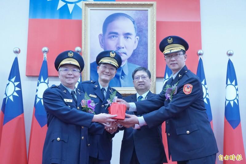 竹縣最年輕警察局長接任 楊文科提醒學客語、建置監視系統