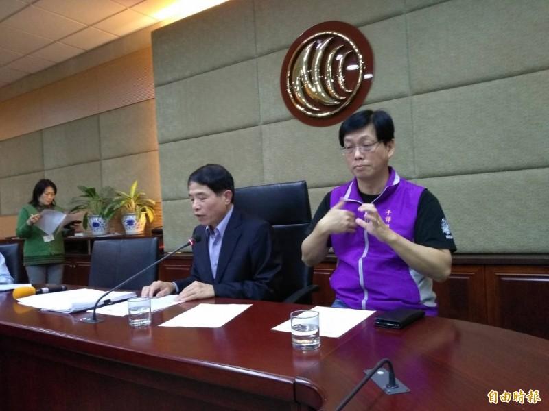 中天新聞爭議多,NCC今天表示,要求中天新聞台限時改善,否則撤換新聞部主管(記者劉力仁攝)