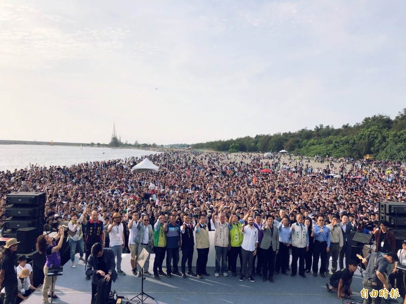 台南「漁光島藝術節」今(30)日登場,上萬人湧進海島新樂園!(台南市政府提供)