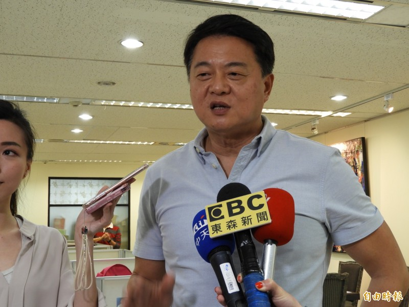 對於高雄市長韓國瑜表態不選2020,爭取國民黨總統提名的前台北縣長周錫瑋表示,尊重韓國瑜的決定,相信韓是說到做到的人。(記者賴筱桐攝)