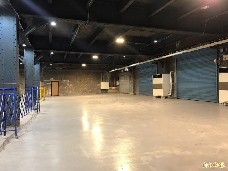 西2、3碼頭倉庫將斥資5億多元整建。(記者林欣漢攝)