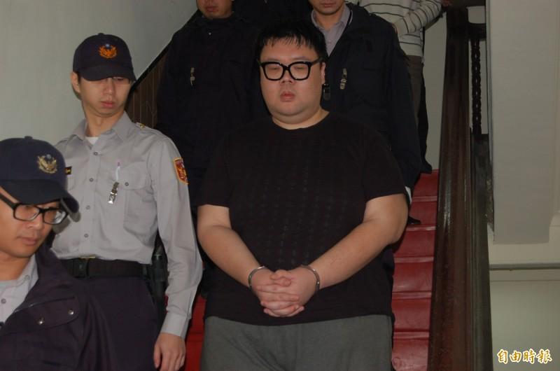 有「土豪哥」稱號的富二代朱家龍涉女模命案,朱今在更一審辯論庭中,以已賠償和解為由,請求從經量刑。(記者楊國文攝)