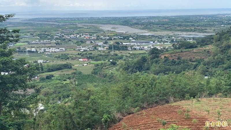利嘉部落自主公告傳統領域廣達兩萬多公頃。(記者張存薇攝)