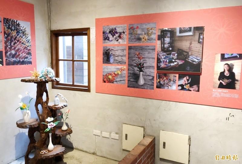 雲林記憶Cool媽祖文化展。(記者廖淑玲攝)