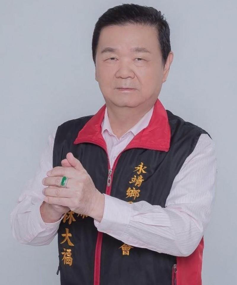 永靖鄉代會正副主席競選傳賄選,主席林大福被收押。(翻攝林大福臉書)