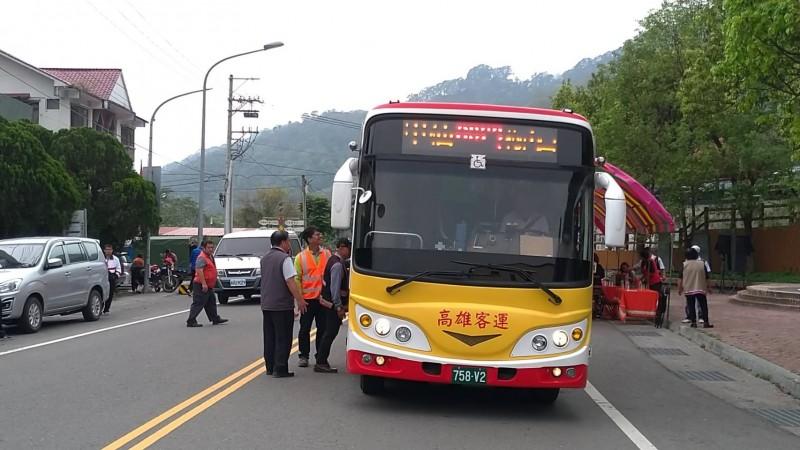 因八八風災停駛10年,高雄客運4月1日起復駛桃源梅山口路線。(記者蘇福男翻攝)