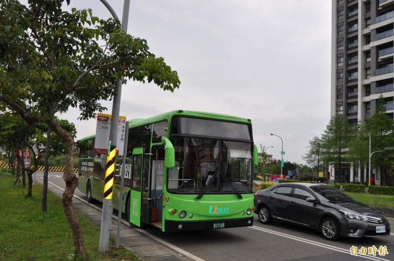統聯客運桃園市公車715A將於五月一日開通。(記者周敏鴻攝)
