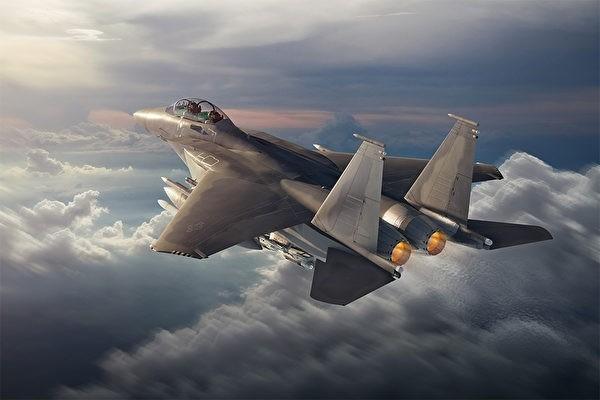 美國波音公司公布了新型F-15EX戰機的概念圖。(圖片來源:波音公司官網)