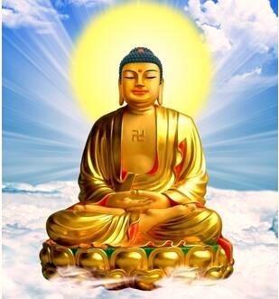 佛祖神像。(記者謝介裕翻攝)