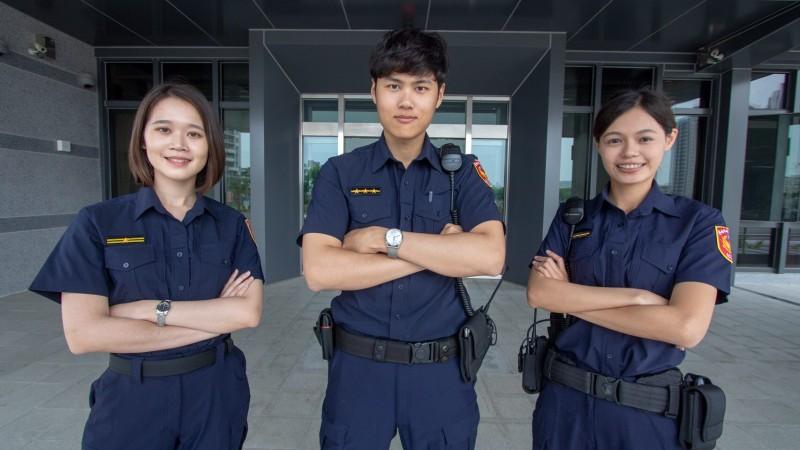 員警普遍對新制服的機能性、舒適度都感到相當滿意。(永康警分局提供)