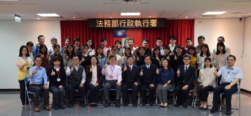 法務部行政執行署結訓典禮 29名生力軍上工