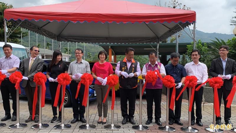3運輸工具將在延平鄉內解決鄉民行的不便。(記者王秀亭攝)